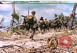 Image of United States 27th Infantry Division Makin Island Kiribati Islands, 1943, second 1 stock footage video 65675059699