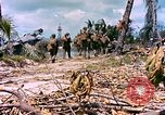 Image of United States 27th Infantry Division Makin Island Kiribati Islands, 1943, second 7 stock footage video 65675059699