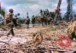 Image of United States 27th Infantry Division Makin Island Kiribati Islands, 1943, second 8 stock footage video 65675059699