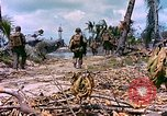 Image of United States 27th Infantry Division Makin Island Kiribati Islands, 1943, second 11 stock footage video 65675059699