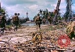 Image of United States 27th Infantry Division Makin Island Kiribati Islands, 1943, second 12 stock footage video 65675059699