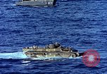 Image of Landing Vehicle Tracked Pacific Ocean, 1945, second 8 stock footage video 65675059724