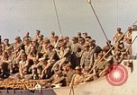 Image of Soldiers and sailors aboard a US Navy Transport ship Pacific Ocean, 1945, second 2 stock footage video 65675059730
