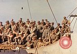 Image of Soldiers and sailors aboard a US Navy Transport ship Pacific Ocean, 1945, second 3 stock footage video 65675059730