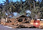 Image of Seabees constructing cargo containers Leyte Philippines, 1945, second 3 stock footage video 65675059732