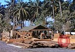 Image of Seabees constructing cargo containers Leyte Philippines, 1945, second 4 stock footage video 65675059732