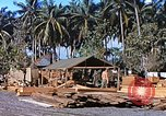 Image of Seabees constructing cargo containers Leyte Philippines, 1945, second 8 stock footage video 65675059732