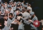 Image of Catholic Mass Pacific Ocean, 1945, second 8 stock footage video 65675059743