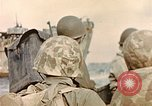 Image of US Marines beach landing at Iwo Jima Iwo Jima, 1945, second 4 stock footage video 65675059746