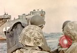 Image of US Marines beach landing at Iwo Jima Iwo Jima, 1945, second 5 stock footage video 65675059746