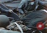 Image of litter wounded Pacific Ocean, 1945, second 11 stock footage video 65675059749