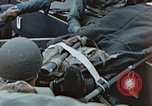 Image of litter wounded Pacific Ocean, 1945, second 12 stock footage video 65675059749