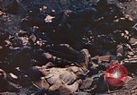 Image of dead Marines Iwo Jima, 1945, second 10 stock footage video 65675059766