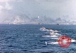 Image of landing crafts Iwo Jima, 1945, second 5 stock footage video 65675059776