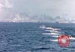 Image of landing crafts Iwo Jima, 1945, second 6 stock footage video 65675059776