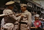Image of Crew of USS Catfish receive Submarine Warfare Insignia Pearl Harbor Hawaii USA, 1945, second 1 stock footage video 65675059778