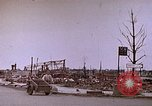 Image of WW2 bombing damage and Imperial Palace grounds Tokyo Japan, 1945, second 5 stock footage video 65675059786