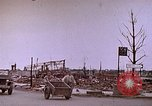 Image of WW2 bombing damage and Imperial Palace grounds Tokyo Japan, 1945, second 7 stock footage video 65675059786