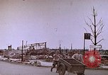Image of WW2 bombing damage and Imperial Palace grounds Tokyo Japan, 1945, second 10 stock footage video 65675059786