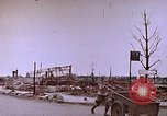 Image of WW2 bombing damage and Imperial Palace grounds Tokyo Japan, 1945, second 11 stock footage video 65675059786