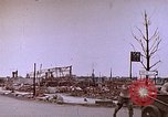 Image of WW2 bombing damage and Imperial Palace grounds Tokyo Japan, 1945, second 12 stock footage video 65675059786