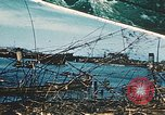 Image of smashed port Corsica France, 1944, second 1 stock footage video 65675059801