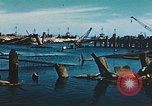 Image of smashed port Corsica France, 1944, second 2 stock footage video 65675059801