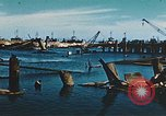 Image of smashed port Corsica France, 1944, second 3 stock footage video 65675059801