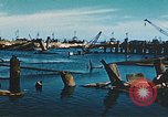 Image of smashed port Corsica France, 1944, second 4 stock footage video 65675059801