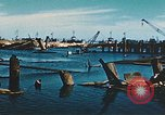 Image of smashed port Corsica France, 1944, second 5 stock footage video 65675059801