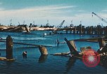 Image of smashed port Corsica France, 1944, second 6 stock footage video 65675059801