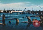 Image of smashed port Corsica France, 1944, second 8 stock footage video 65675059801