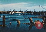 Image of smashed port Corsica France, 1944, second 9 stock footage video 65675059801