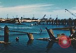 Image of smashed port Corsica France, 1944, second 10 stock footage video 65675059801