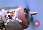Image of  57th Fighter Group P-47s at Alto Airfield Corsica France, 1944, second 5 stock footage video 65675059819