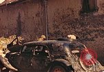 Image of damaged cars France, 1944, second 2 stock footage video 65675059825