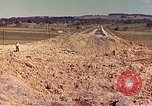 Image of damaged railroad track France, 1944, second 2 stock footage video 65675059826