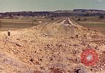 Image of damaged railroad track France, 1944, second 3 stock footage video 65675059826