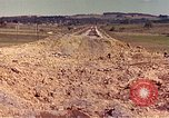 Image of damaged railroad track France, 1944, second 4 stock footage video 65675059826