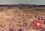 Image of damaged railroad track France, 1944, second 5 stock footage video 65675059826