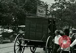 Image of stagecoach Ypsilanti Michigan USA, 1923, second 6 stock footage video 65675059831