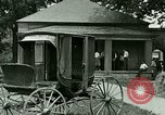 Image of stagecoach Ypsilanti Michigan USA, 1923, second 12 stock footage video 65675059831