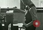 Image of hand press United States USA, 1923, second 4 stock footage video 65675059838