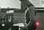 Image of hand press United States USA, 1923, second 5 stock footage video 65675059838