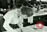 Image of sewing class United States USA, 1923, second 12 stock footage video 65675059845