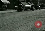 Image of horse drawn carriage Ypsilanti Michigan USA, 1923, second 2 stock footage video 65675059848