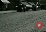 Image of horse drawn carriage Ypsilanti Michigan USA, 1923, second 3 stock footage video 65675059848