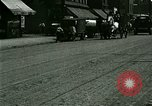 Image of horse drawn carriage Ypsilanti Michigan USA, 1923, second 4 stock footage video 65675059848
