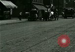 Image of horse drawn carriage Ypsilanti Michigan USA, 1923, second 5 stock footage video 65675059848