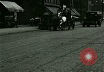 Image of horse drawn carriage Ypsilanti Michigan USA, 1923, second 6 stock footage video 65675059848